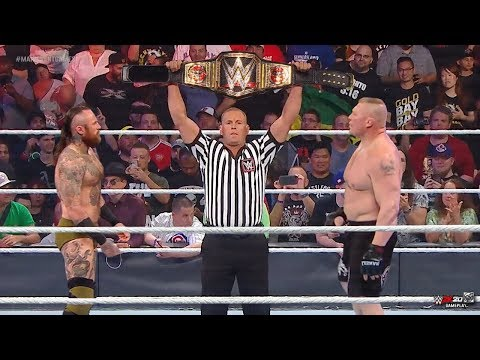 FULL MATCH - Brock Lesnar vs. Aleister Black - WWE World Championship Match : Jan 17, 2020