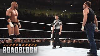 Nonton Dean Ambrose Vs  Triple H     Wwe World Heavyweight Titel Match  Wwe Roadblock 2016 Film Subtitle Indonesia Streaming Movie Download