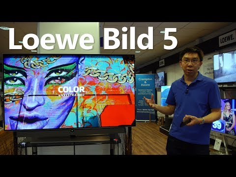 Loewe Bild 5 First Look: 2017 4K OLED TV with Dolby Vision