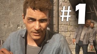 Uncharted 4 A Thief's End Part 1 - Prologue Chapter 1 - Gameplay Walkthrough PS4