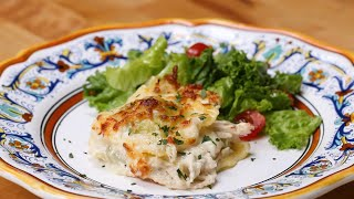 Chicken Alfredo Ravioli Lasagna by Tasty