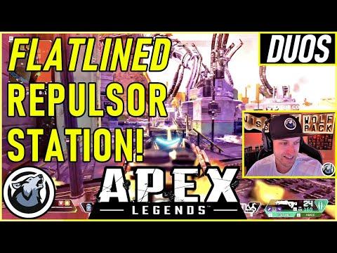 FLATLINED THE REPULSOR STATION VISS w/ TannerSlays APEX SEASON 5