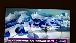 "PULSE ""Socks It To Homelessness"""