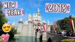 New Year's Eve At Disneyland!! 2018