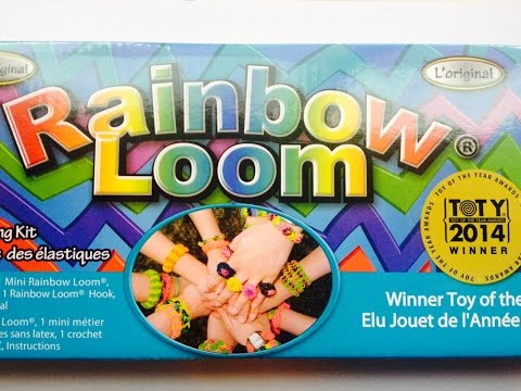 New Rubber Band Crafting Kit expandable metier Rainbow Loom 2014