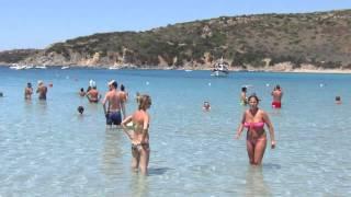 Villasimius Italy  City pictures : Пляж. Вилласимиус, Сардиния, Италия/Beach. Villasimius, Sardinia, Italy
