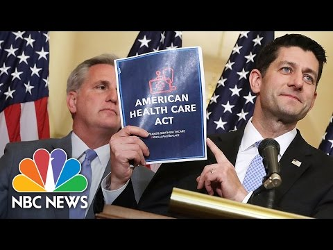 House Passes GOP Health Care Bill With 217-213 Vote | NBC News
