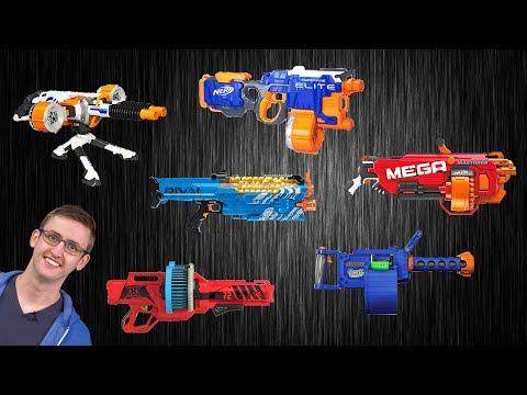 [VS] Nerf Heavy Gunner Showdown | Which Support Blaster is Best?!