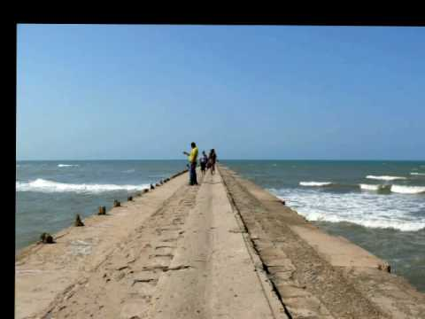 Puerto Colombia - Inaugurado en 1893. Algunos dicen que tiene 720 metros, otros 1300, a mi se me hizo más largo.