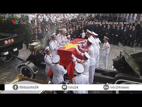 Tiễn biệt nguyên Chủ tịch nước, Đại tướng Lê Đức Anh - Người con ưu tú của đất nước | VTV24 - Thời lượng: 8:50.