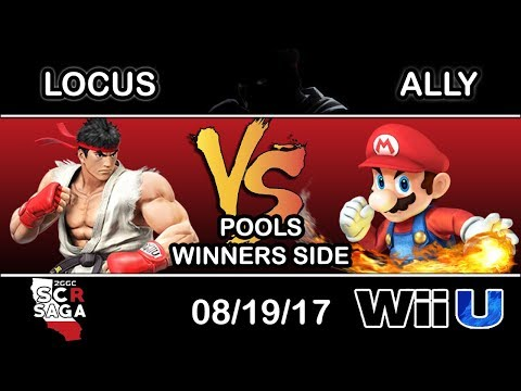 2GGC: SCR Saga - Locus (Ryu) Vs. C9 | Ally (Mario) - Pools Winners Side
