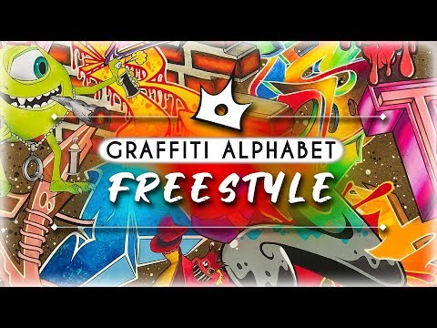 Graffiti Alphabet Freestyle - Rabel