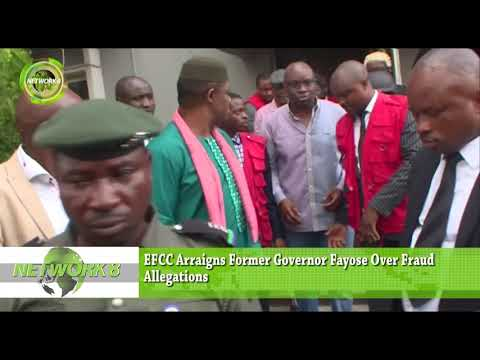 EFCC ARRAIGNS FORMER GOVERNOR FAYOSE OVER ALLEGATIONS OF FRAUD
