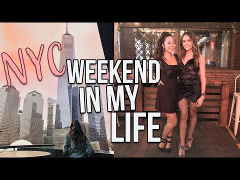 NYC WEEKEND IN MY LIFE: Surprising my best friend, boyfriend trip, and my bus experience