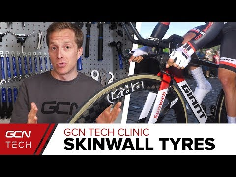 Are Skinwall Tyres Really Any Better? | GCN Tech Clinic