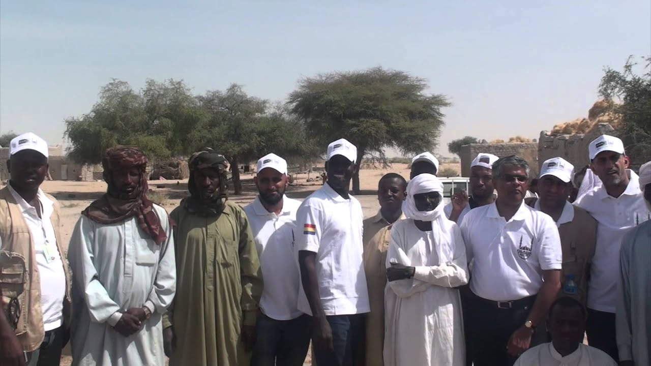 Zain Bhikha & Rashid Bhikha – Implementation of Water Projects – Chad (2014)