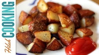 How To Make Home Fries  |  Extra Crispy Home Fries Recipe! |  Hilah Cooking