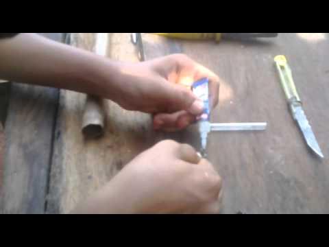 como fazer uma arma de caneta (2013)