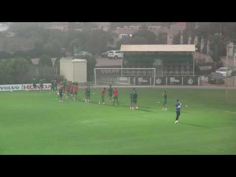 בוקי באימון מהירות תגובה מכבי חיפה 2015
