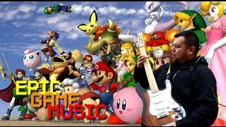 Smash Bros. Melee Menu Theme Guitar Cover