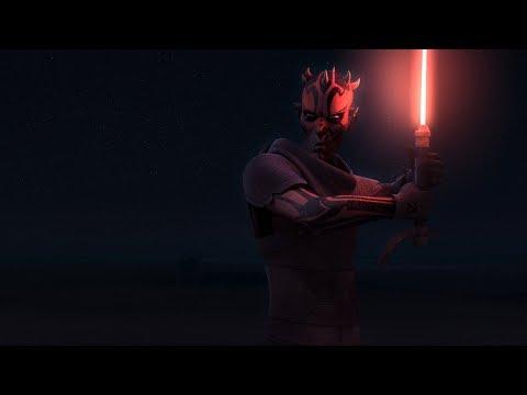 Behind The Scenes: Obi-Wan vs. Darth Maul | Star Wars Rebels