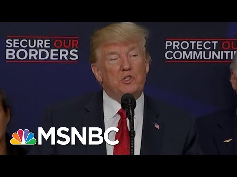 President Donald Trump Backpedals On Supporting GOP Immigration Bill | Hardball | MSNBC