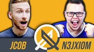Video Jcob vs N3jxiom - kto lepiej zna Fifę? MP3, 3GP, MP4, WEBM, AVI, FLV Juli 2018