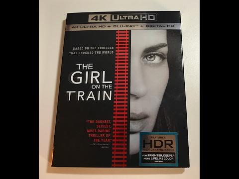 Unbox A Garota No Trem Bluray 4K UHD