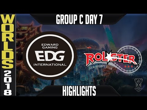 EDG vs KT Highlights | Worlds 2018 Group C Day 7 | Edward Gaming(LPL) vs KT Rolster(LCK)