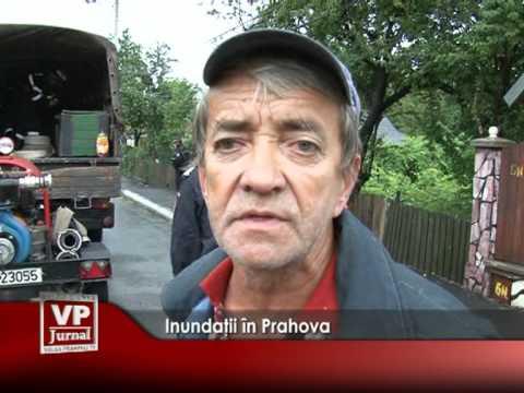 Inundaţii în Prahova