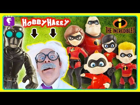 Baby Jack Jack and Incredibles Toy Story with HobbyHarry