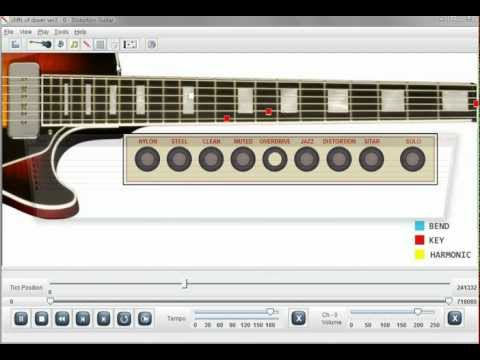 Eric Johnson Cliffs of Dover Guitar Lesson Software