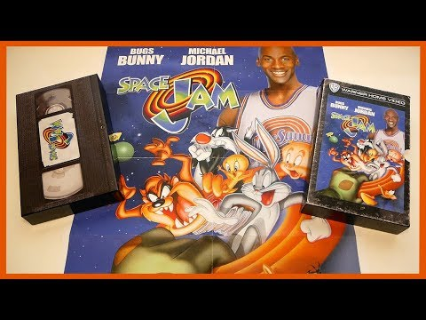 SPACE JAM - LIMITED BLU-RAY VHS EDITION UNBOXING
