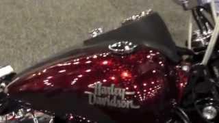 9. New 2013 Harley-Davidson  Dyna Street Bob FXDB Hard Candy Big Red Flake