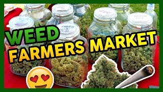 Inside a WEED FARMER'S MARKET – Emerald Exchange by That High Couple