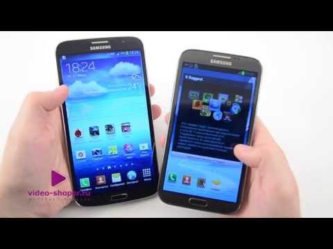 Битва Samsung Galaxy Note II vs Samsung Galaxy Mega