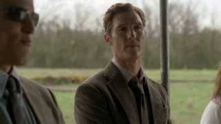 """True Detective - Rust talks about Religion (""""What's the IQ of these people?"""")  {Full Scene}  [HD]"""