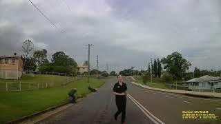 Motocyklista traci nogę w wypadku