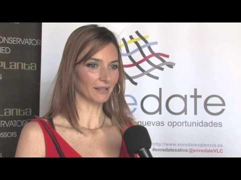 Carmen Pallas Gerente de Sweetfruit en Enrédate Xátiva 2014