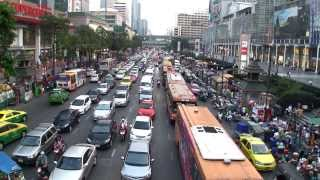 World Cruise Life - Rachaprarop Rd - Bangkok City March 2013 - FHD
