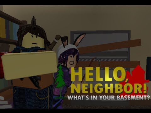 Hello Neighbour What's in Your Basement [Roblox Musical] (видео)
