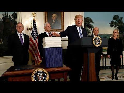 Ο Ντόναλντ Τραμπ υπέγραψε τον ομοσπονδιακό προ¨ϋπολογισμό