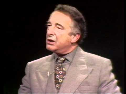 Day at Night:  Victor Borge, Danish comedian, conductor and pianist