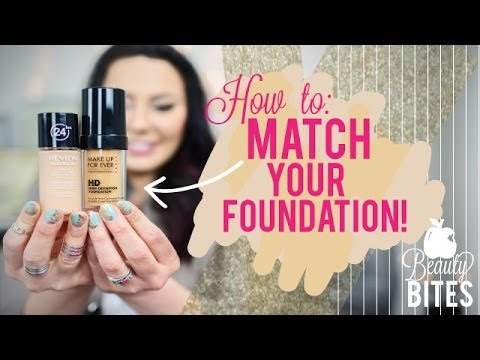 Beauty Bite: How to Match Your Foundation | Makeup Geek