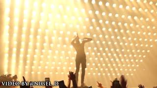 Kanye West Brings Out Travis Scott At OVO Fest 2015