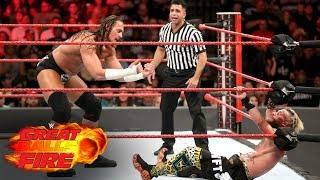 Nonton Big Cass Launches Enzo Amore Over The Top Rope To The Floor  Wwe Great Balls Of Fire 2017 Film Subtitle Indonesia Streaming Movie Download