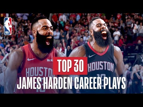 Video: James Harden's Top 30 Plays of His NBA Career