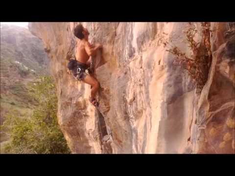Madeira climbing