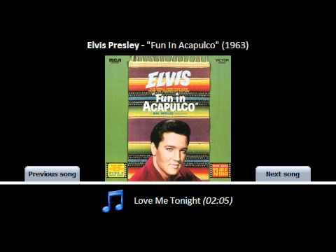 12. Love Me Tonight [Fun In Acapulco - 1963]