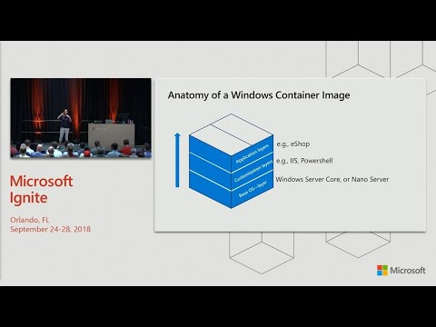 Getting started with Windows Server containers in Windows Server 2019 - BRK2234